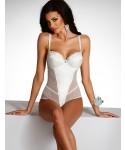 Laat u overtuigen door de elegante Adelle body van Alles.  Zeer geschikt als bruidslingerie. Maar ook om te verwennen met luxe, exclusieve lingerie.